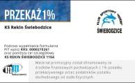 Jak przekazać 1% podatku na KS Rekin Świebodzice